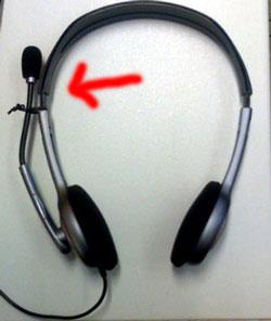 Headset geschützt